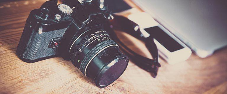 Kamera-Retro